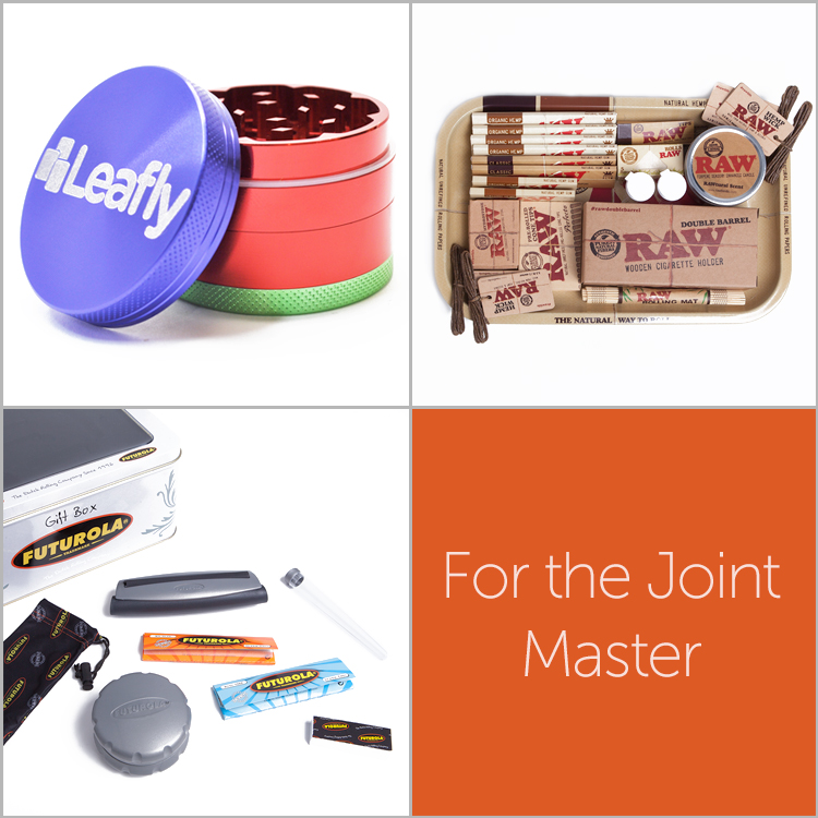 Holiday gift ideas for the cannabis joint master