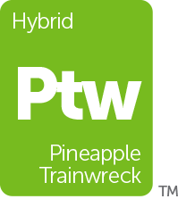 Leafly Pineapple Trainwreck cannabis strain tile