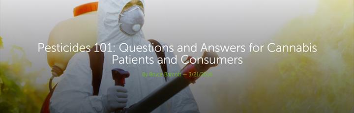 Pesticides 101 Leafly article header image