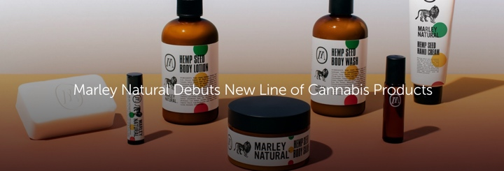 Marley Natural Debuts New Line of Cannabis Products