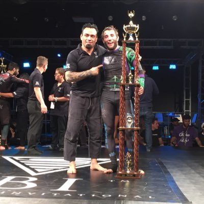 Eddie Bravo, left, and Denny Prokopos. Photo courtesy of VapeXhale