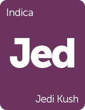Leafly Jedi Kush cannabis strain tile