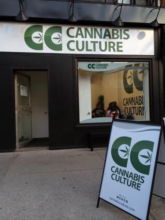 Cannabis Culture medical marijuana dispensary in Toronto, Ontario, Canada