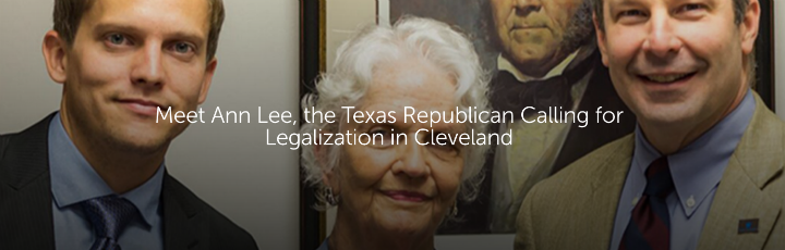 Meet Ann Lee, the Texas Republican Calling for Legalization in Cleveland
