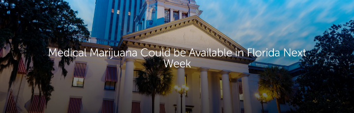 Medical Marijuana Could be Available in Florida Next Week