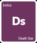 Leafly Death Star cannabis strain tile
