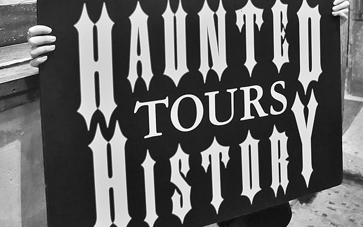 Haunted History Tour in New Orleans
