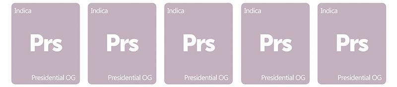 Presidential OG 0 out of 5 tiles