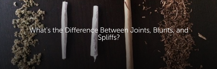 What's the Difference Between Joints, Blunts, and Spliffs?