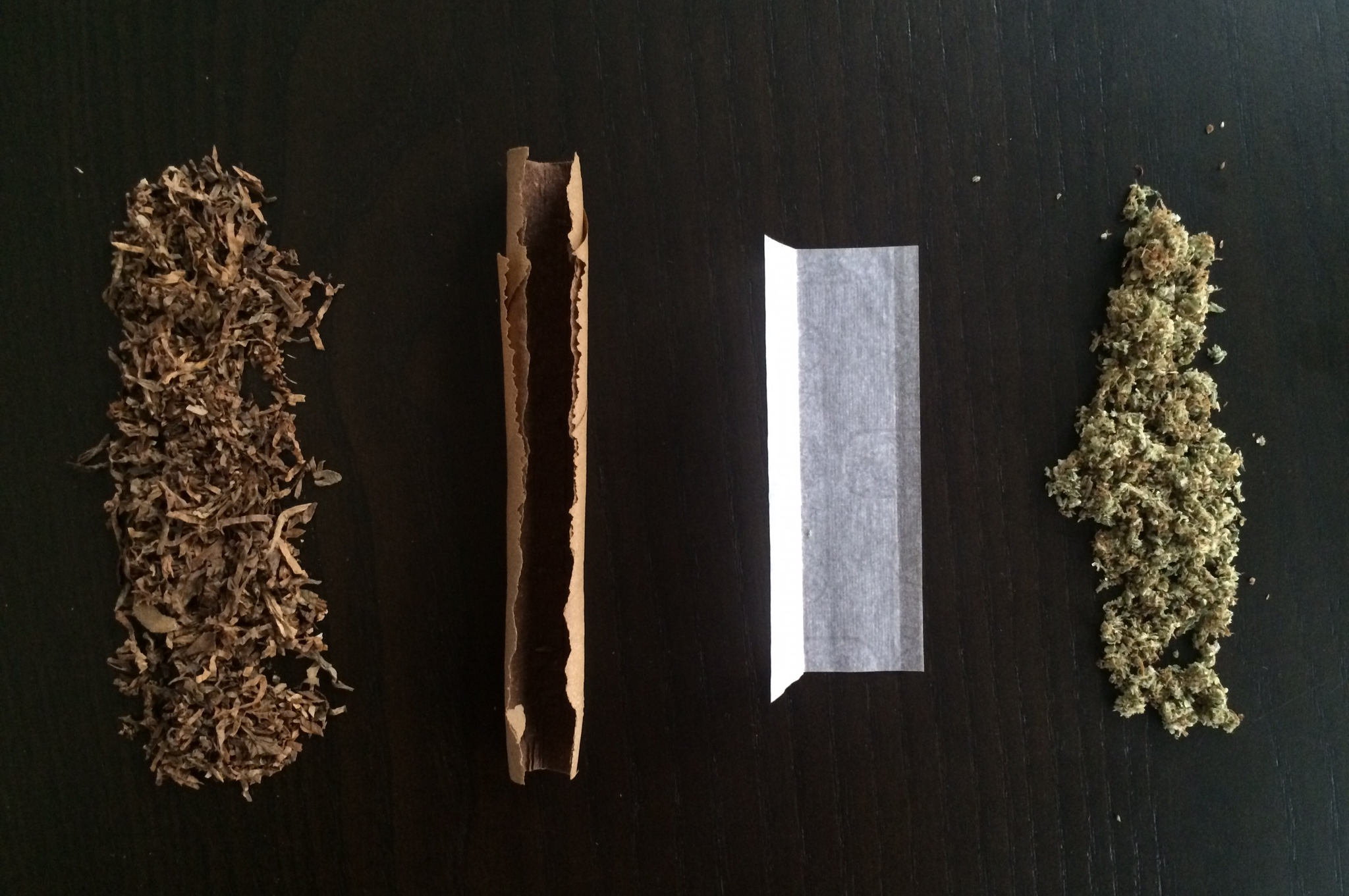 What are the differences between joints vs. blunts vs. spliffs