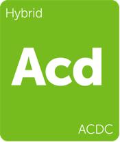 Leafly ACDC hybrid cannabis strain tile