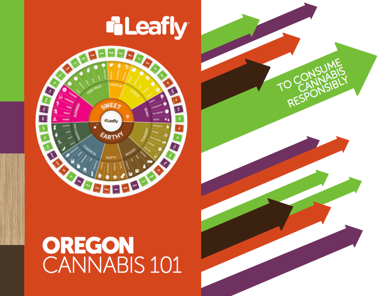 Leafly's Oregon Cannabis 101 brochure