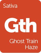 Leafly Ghost Train Haze cannabis strain tile